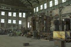 Hangar de machines Photographie stock libre de droits
