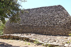 Hangar de pierres sèches en Bories Village, Gordes, France Photo stock