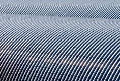 Hangar. Detail of metallic hangar roof Royalty Free Stock Photos