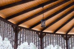 Hangar en bois Image stock