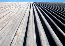 Hangar roof Royalty Free Stock Photo