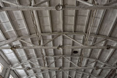 Hangar roof Royalty Free Stock Photos