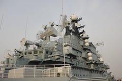 Hangarfartyget Arkivbilder
