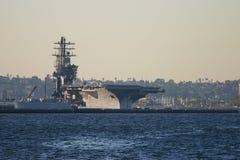 hangarfartygport Royaltyfri Bild