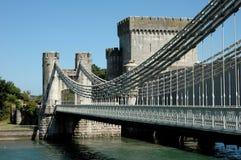 Hangbrug Royalty-vrije Stock Foto's