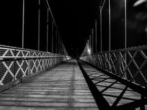 Hangbrug in Chester het UK royalty-vrije stock foto