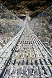 Hangbrug, Nepal Stock Foto's