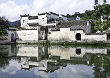 Hangcun - la Cina Fotografia Stock Libera da Diritti