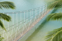 Hanged bridge Royalty Free Stock Photo