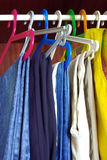 Hanged Clothes Royalty Free Stock Image