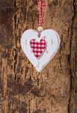 Hanged heart Royalty Free Stock Photography