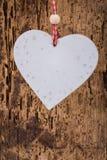 Hanged heart Stock Image