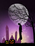 Hanged man on Halloween Royalty Free Stock Images