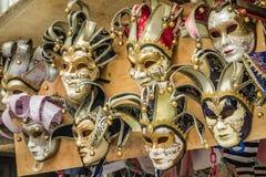 Hanged masks Royalty Free Stock Photo