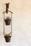 Hanged pots Royalty Free Stock Photography