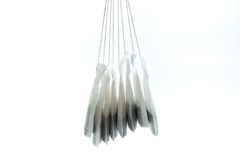 Hanged tea bag Royalty Free Stock Photo