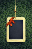 Hanged Xmas Slate Royalty Free Stock Photos