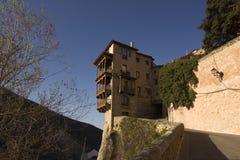 Hangend huis in Cuenca, Spanje Royalty-vrije Stock Foto's