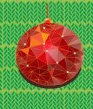 Hangend Kerstmisstuk speelgoed Royalty-vrije Stock Afbeelding