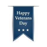 Hangend lint op de dag van de veteranen van Amerika Stock Foto's