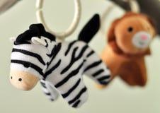 Hangend speelgoed Royalty-vrije Stock Afbeeldingen
