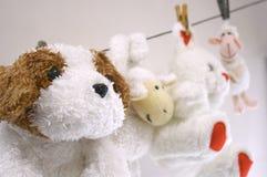 Hangend speelgoed Royalty-vrije Stock Fotografie
