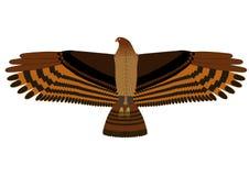 Hangende adelaar Stock Foto