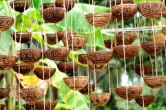 Hangende bloempotten Royalty-vrije Stock Foto