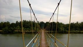 Hangende brug Stock Afbeeldingen