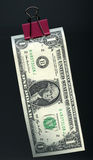 Hangende dollar stock afbeeldingen