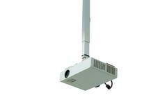 Hangende geïsoleerde projector Royalty-vrije Stock Fotografie
