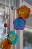 Hangende glasdecoratie royalty-vrije stock afbeeldingen
