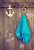 Hangende Handdoek Stock Foto's