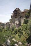Hangende Huizen, Cuenca, Spanje Stock Afbeeldingen