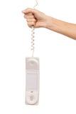 Hangende intercomzaktelefoon Stock Foto's