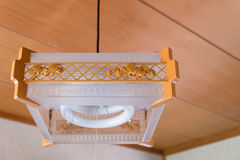 Hangende Japanse Lamp Royalty-vrije Stock Afbeelding