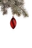 Hangende Kerstmisdecoratie Royalty-vrije Stock Foto's