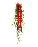 Hangende Kerstmisdecoratie met klimop Royalty-vrije Stock Foto