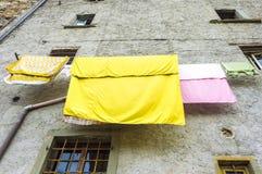Hangende kleren Royalty-vrije Stock Foto