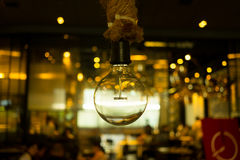 Hangende lamp Royalty-vrije Stock Afbeelding