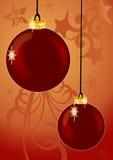 Hangende Ornamenten stock illustratie