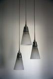 Hangende plafondlampen Royalty-vrije Stock Afbeeldingen