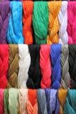 Hangende sjaals Royalty-vrije Stock Foto's