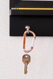 Hangende sleutels royalty-vrije stock fotografie