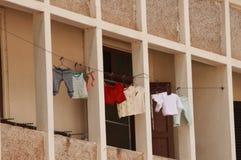 Hangende wasserijkleren Royalty-vrije Stock Fotografie