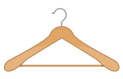 Hanger. Vector illustration of isolated hanger Royalty Free Stock Photos