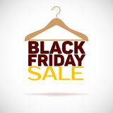 Hanger , black friday poster sale Stock Photos