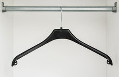 Hanger in the closet Royalty Free Stock Photos