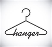 Hanger design Stock Image