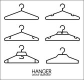 Hanger design Royalty Free Stock Image